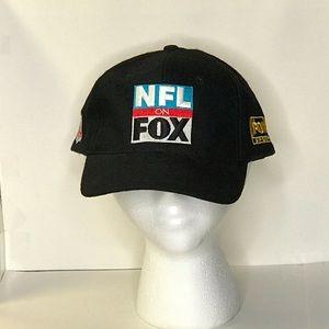 Vintage NFL On FOX Football Hat FOX Sports